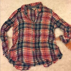 Plaid Lucky Brand Shirt