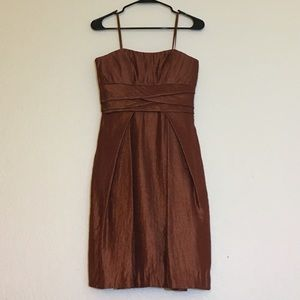 Copper Max and Cleo Strapless Dress