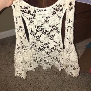 Abercrombie & Fitch crotchet vest