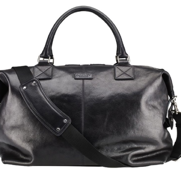 boy Buy Authentic fashionable and attractive package AUTHENTIC! OSPREY London vintage leather bag NWT