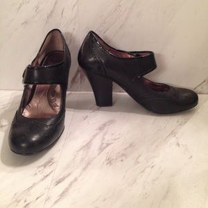 Mary Jane Slip On Heels by Sofft