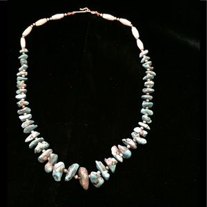 Jewelry - Vintage Turquoise Nugget Necklace