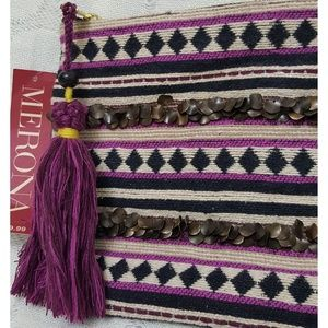 NWT Merona Tribal Clutch