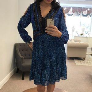 Rebecca Taylor cold shoulder dress