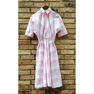 Vintage 1970s American Shirt Dress