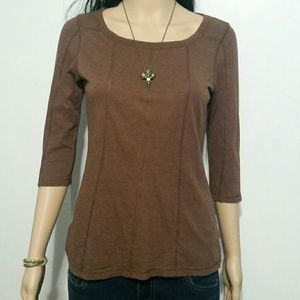 S5A brown blouse