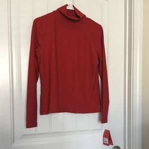 NWT Spanx Red Turtleneck