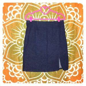 🔴GAP Stretch Denim Pencil Skirt