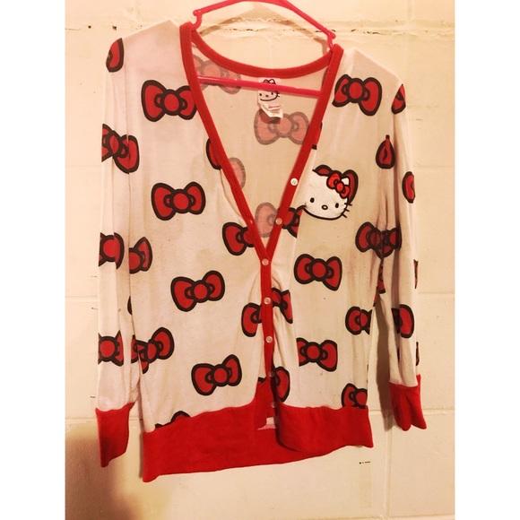 0cf92a263 Hello Kitty Cardigan 🎀. M_59e2e04613302a679f052713