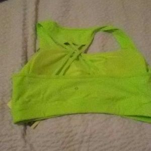 Xersion Intimates & Sleepwear - Xersion neon lime green sports bra 2x