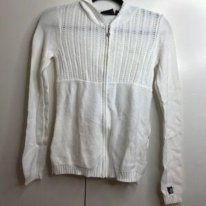 Volcom zip up sweater with hood