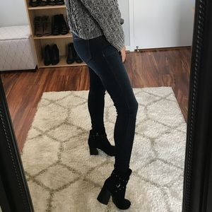 Denim - Last 4 • Olivia Stretchy Mid Rise Skinny