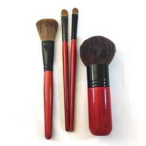Smashbox brush set, 4 professional makeup brushes