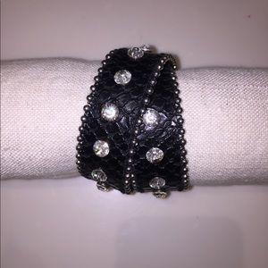Jewelry - Rhinestone wrap style bracelet