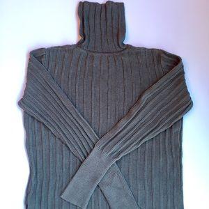 SimplyVera Wang gray turtleneck sweater Large