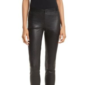 Alice & Olivia skinny leather leggings nwt $798