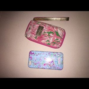 Lilly iPhone 6 case and wallet bundle