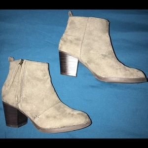 Old Navy GRAY Ankle Boots