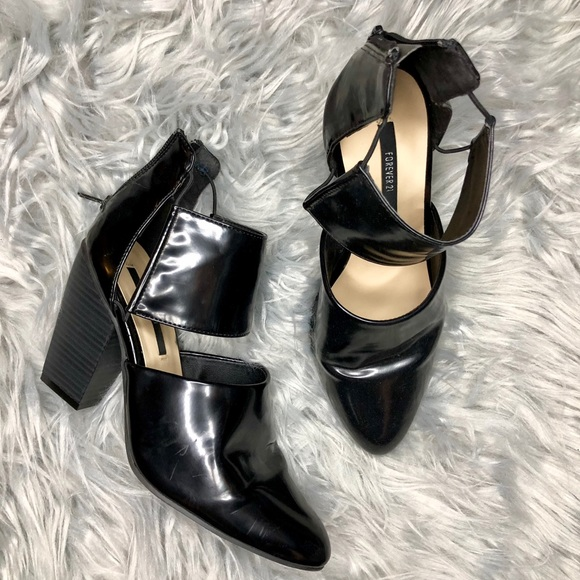 Forever 21 Shoes - Strappy Cutout Block Heels