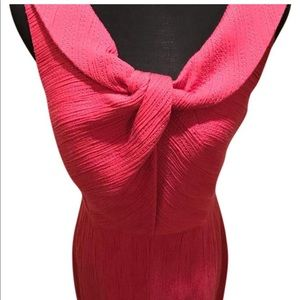 Kay Unger Sleeveless Jacquard Dress