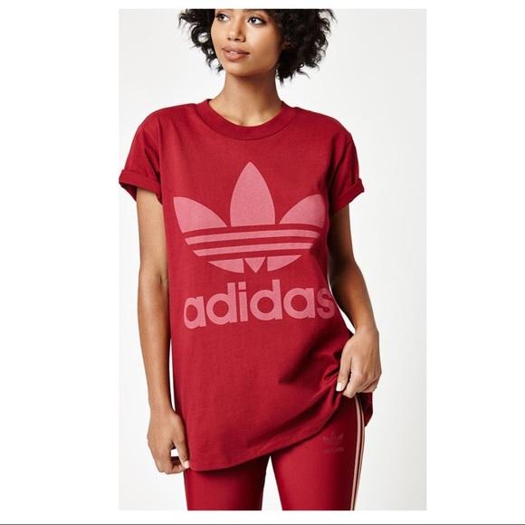 5dabbb679bb adidas Tops | Big Trefoil Tee | Poshmark
