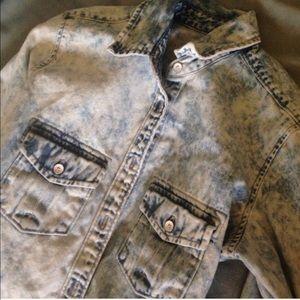 GAP Tops - Acid Chambray Shirt