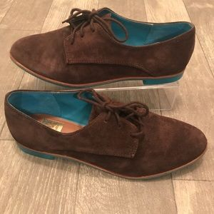 Dolce Vita Brown Lace Up Oxfords size 7