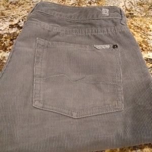 7 for all mankind corduroy pants