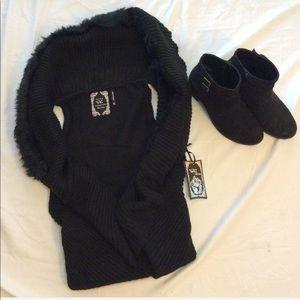 NWT Yoki Black Vest