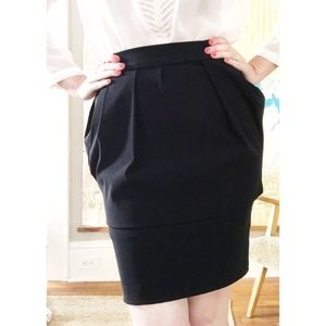 Firm/Donating 2nite PREEN Two-Tier Mini Skirt