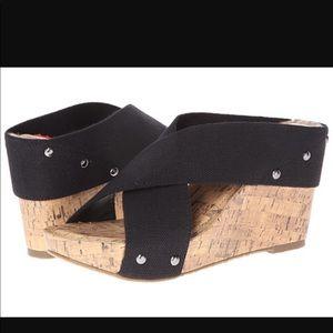 Esprit wedge heel. Like new condition
