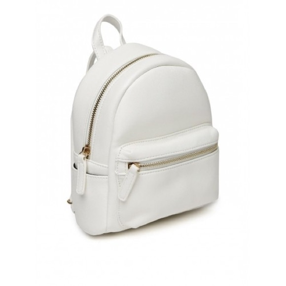 ff9d3bfbda Forever 21 Handbags - Mini white backpack