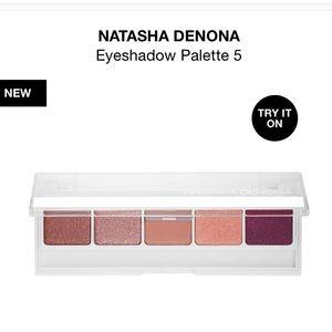 BNIB Natasha Denona 5 eyeshadow palette in #2