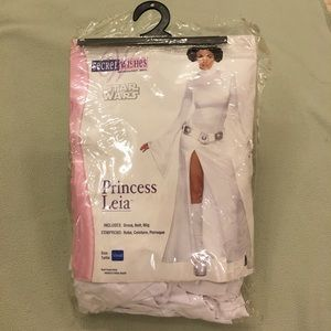 da740a7bbd Secret Wishes Other - NEW Star Wars Princess Leia Costume XS