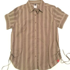 North Face Short Sleeve Button Down