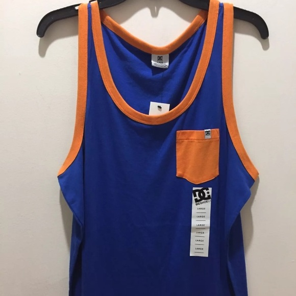 0e85bb87bd124 DC Shoes Graphic Tank Top for Mens