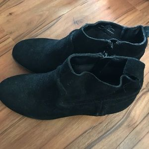 Merona ankle booties size 7.5