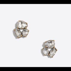 J.Crew Crystal Trio Earrings