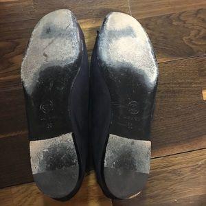 CHANEL Shoes - Chanel Navy Ballerina Flats