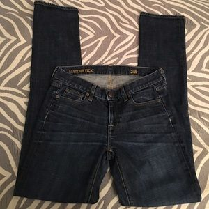 J.Crew matchstick jeans, size 28R