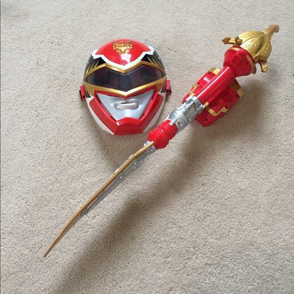 c7f49621c7f5 Kids Power ranger Ultra Dragon sword and Mask