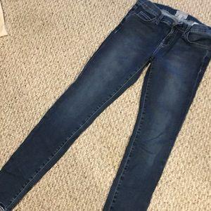 Current/Elliot Stretchy skinny jeans