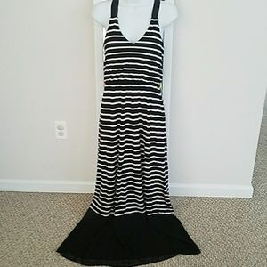 Small Express Maxi Dress with sheer detail