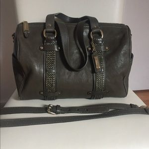 Authentic Cole Haan Olive Leather satchel bag.