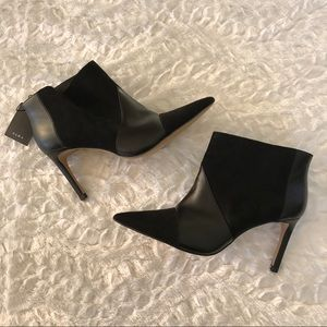 NWT Zara Ankle Black Boots