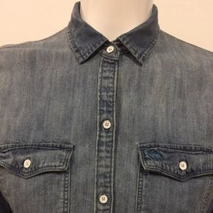 Abercrombie & Fitch Denim shirt Long sleeve size S