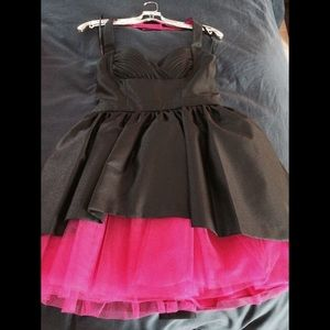 Betsey Johnson collection halter mini dress