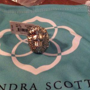Kendra Scott lion ring