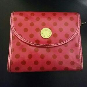 Betsey Johnson Betseyville Hot Pink Cute Wallet!