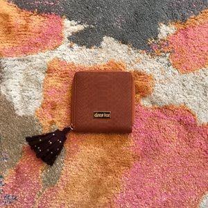Deux lux brown wallet